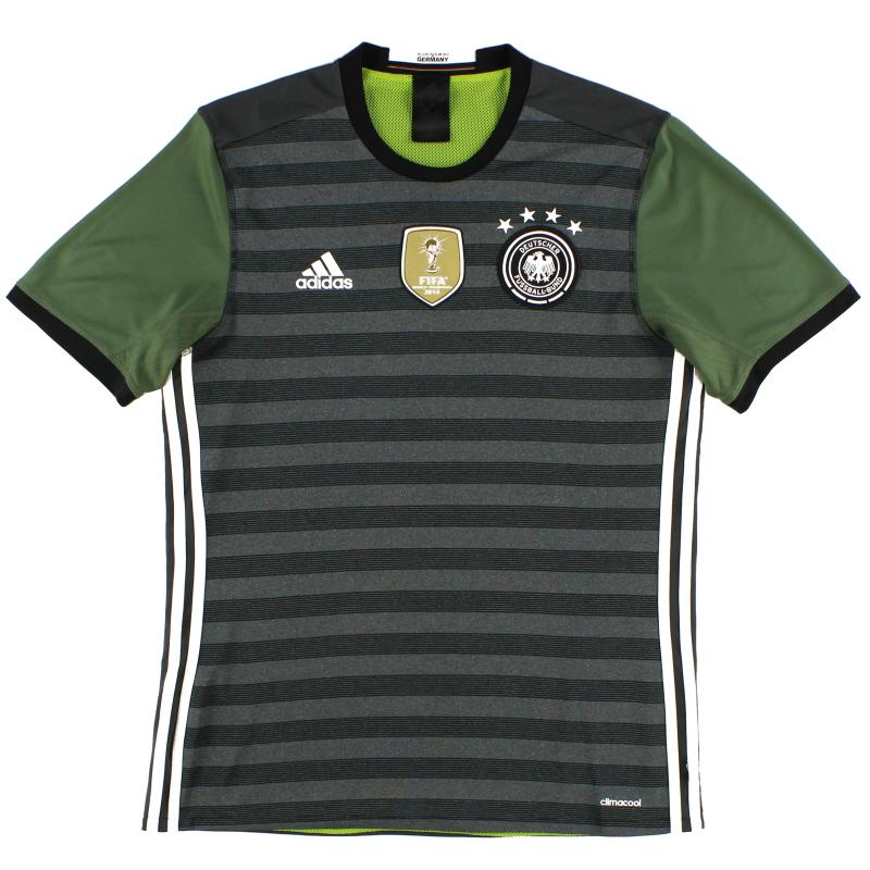 2015-16 Germany adidas Away Shirt XXL - AA0110