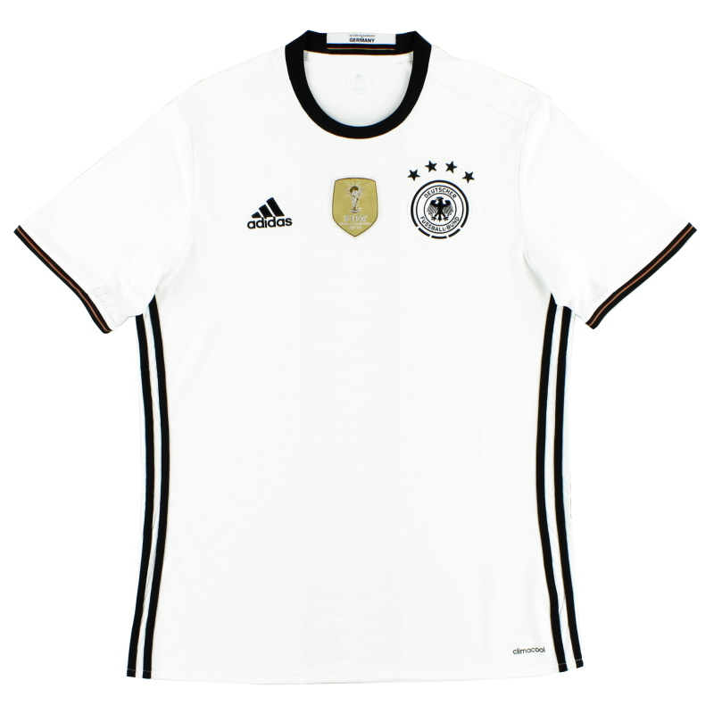 2015-16 Germany Home Shirt *Mint* L - A15014