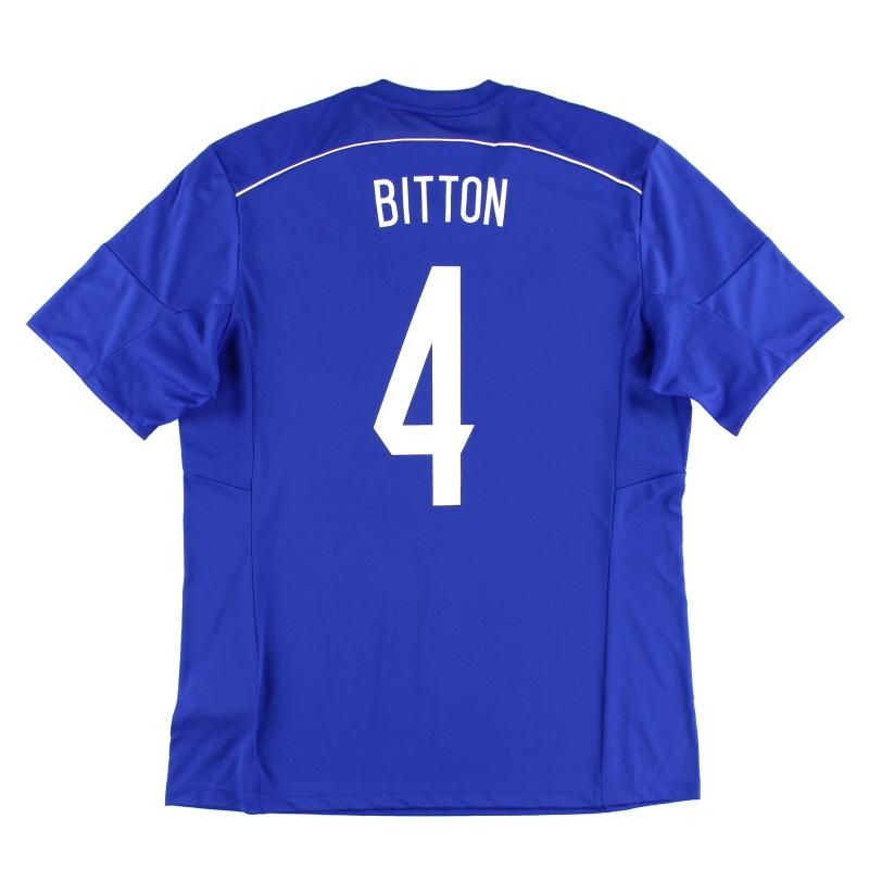 2015-16 Israel Home Shirt Bitton #4 *w/tags*  - F50009