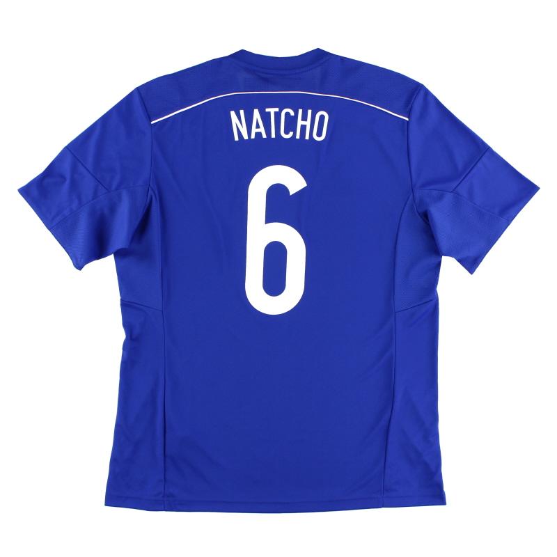 2015-16 Israel Home Shirt Natcho #6 *w/tags*  - F50009