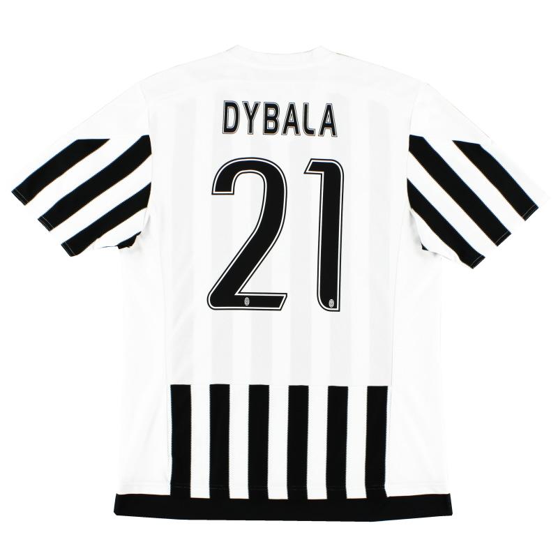 san francisco 09675 1556a 2015-16 Juventus Adizero Home Shirt Dybala #21 XL for sale