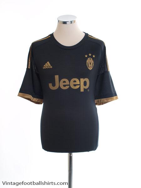2015-16 Juventus Third Shirt *Mint* XL