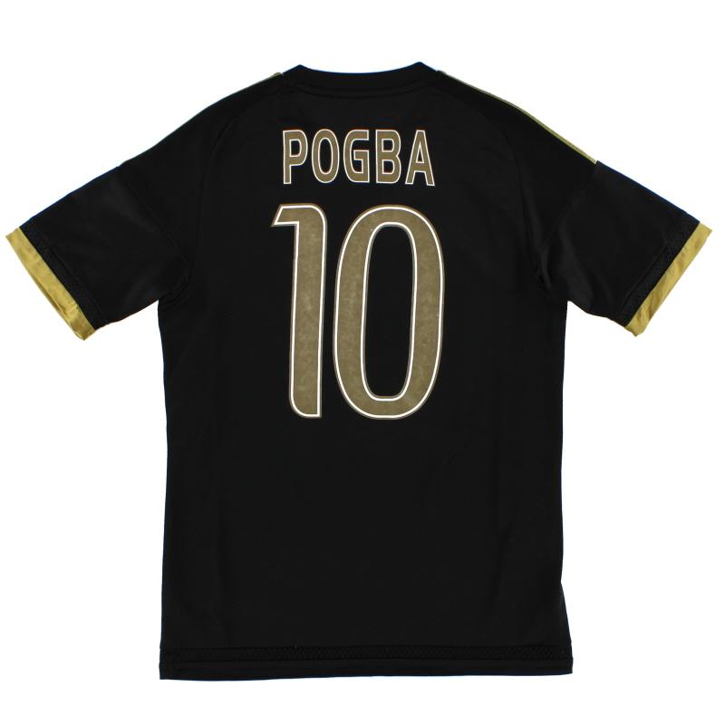2015-16 Juventus Third Shirt Pogba #10 S