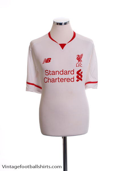 2015-16 Liverpool Away Shirt *As New* L