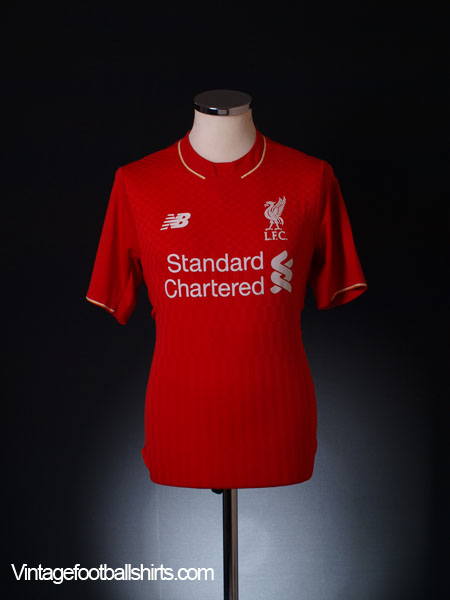 2015-16 Liverpool Home Shirt L