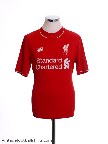 2015-16 Liverpool Home Shirt XL.Boys