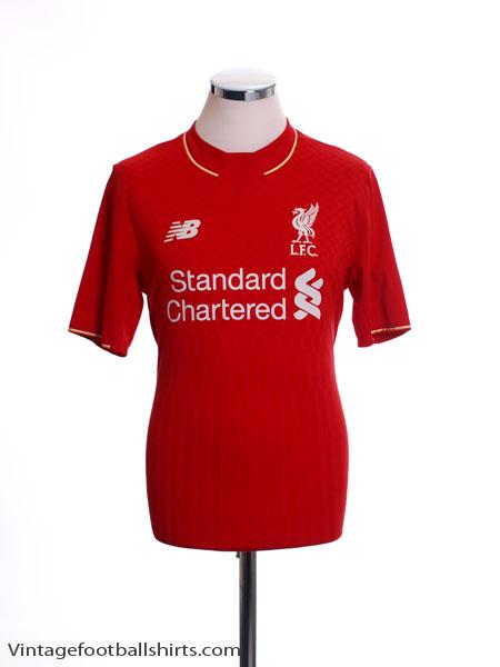 2015-16 Liverpool Home Shirt XL