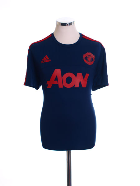 2015-16 Manchester United adidas Training Shirt L