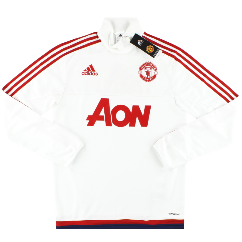 2015-16 Manchester United adidas 1/2 Zip Training Top *BNIB*