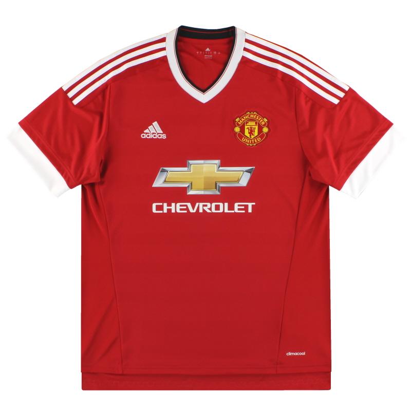 2015-16 Manchester United adidas Home Shirt XXXL - AC1414