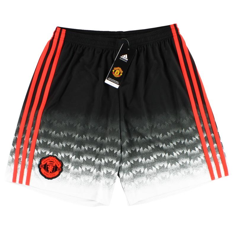 2015-16 Manchester United adidas Third Shorts *w/tags* - AC1450