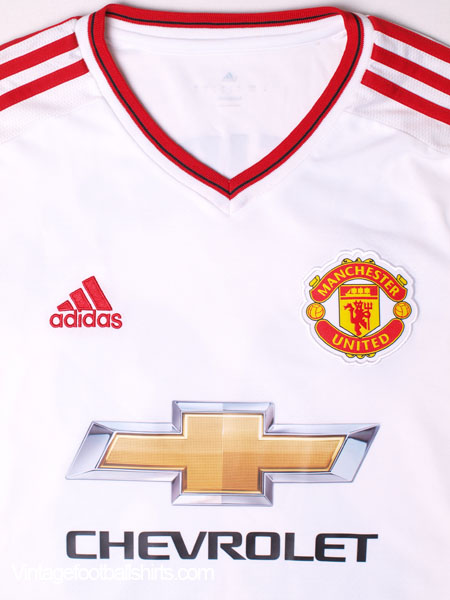 d47eb2636 2015-16 Manchester United Away Shirt Schneiderlin  28 L S S for sale