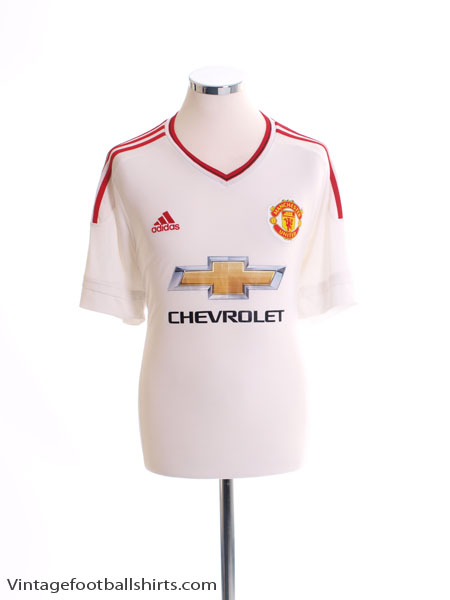 2015-16 Manchester United Away Shirt XL - AI6363