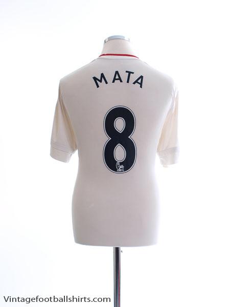 2015-16 Manchester United Away Shirt Mata #8 L - AI6363