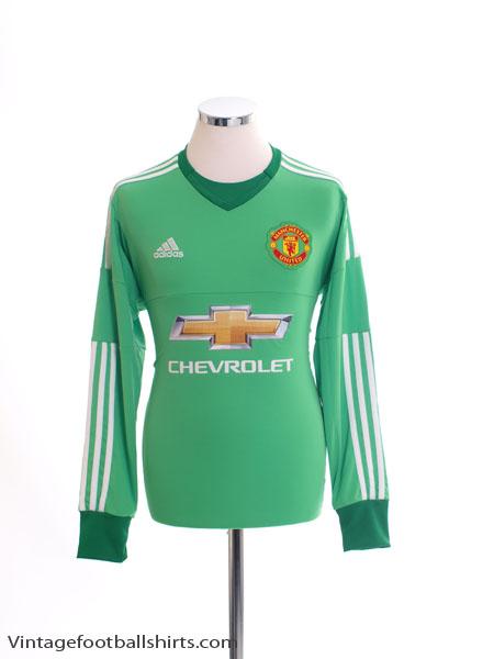 2015-16 Manchester United Goalkeeper Shirt *BNIB* - AC1458