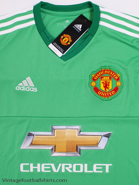 7845e9b0a9e 2015-16 Manchester United Goalkeeper Shirt  BNIB  for sale