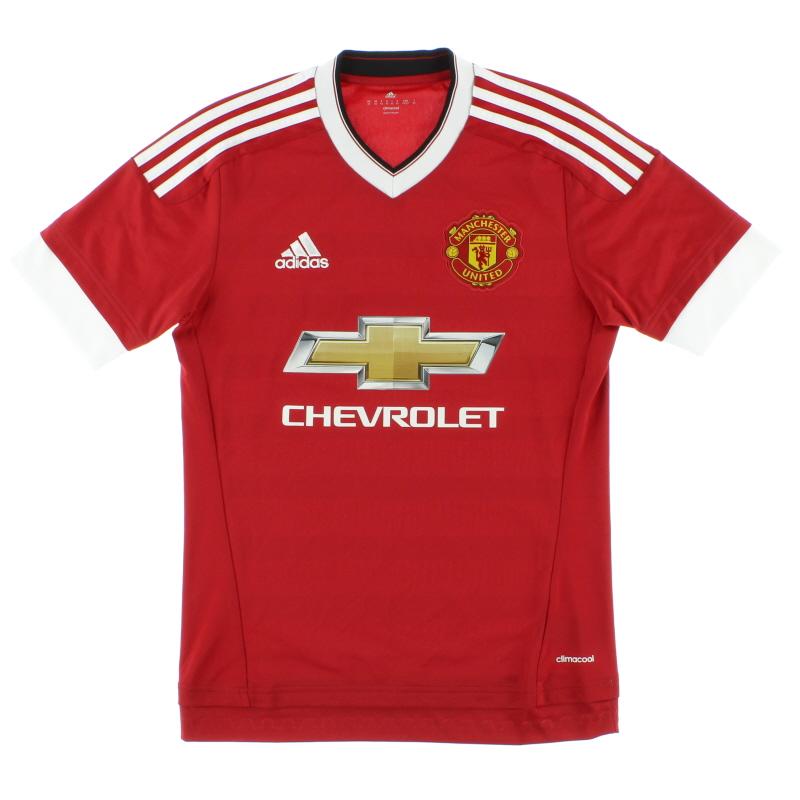 2015-16 Manchester United Home Shirt *Mint* XS - AC1414