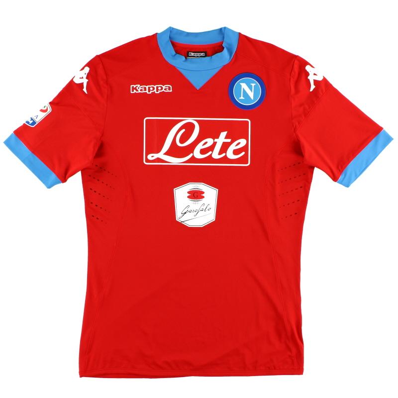 2015-16 Napoli Kombat Third Shirt *Mint* XXL - 302GG20