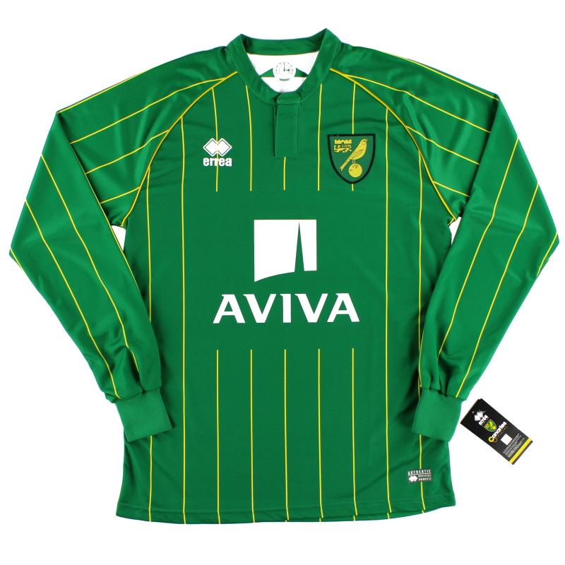 2015-16 Norwich City Away Shirt *BNIB* L/S