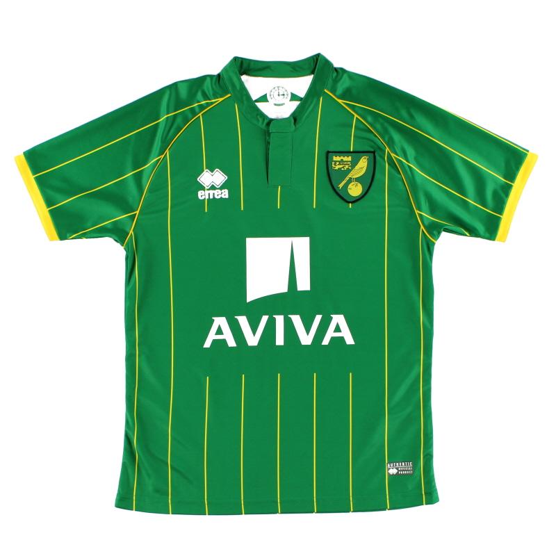 2015-16 Norwich City Away Shirt XXXL