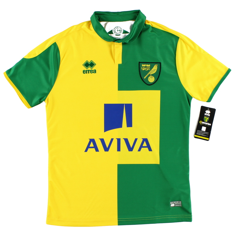2015-16 Norwich City Home Shirt *BNIB*