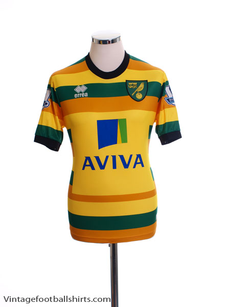 2015-16 Norwich City Third Shirt *As New* S