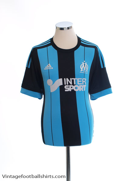 2015-16 Olympique Marseille Away Shirt L - AH5022