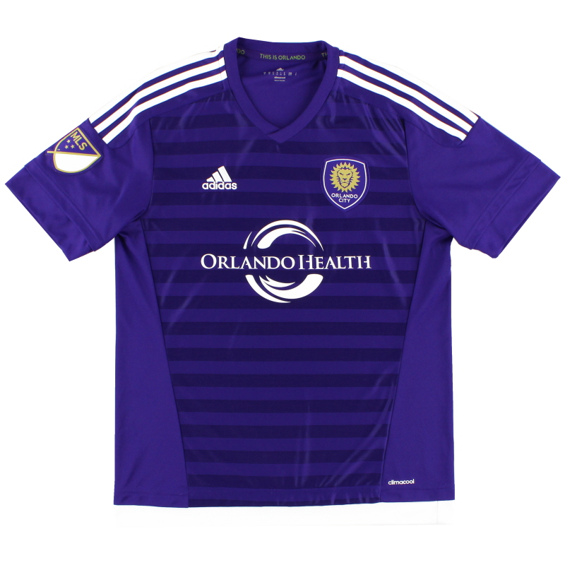 2015-16 Orlando City Home Shirt M - S00410