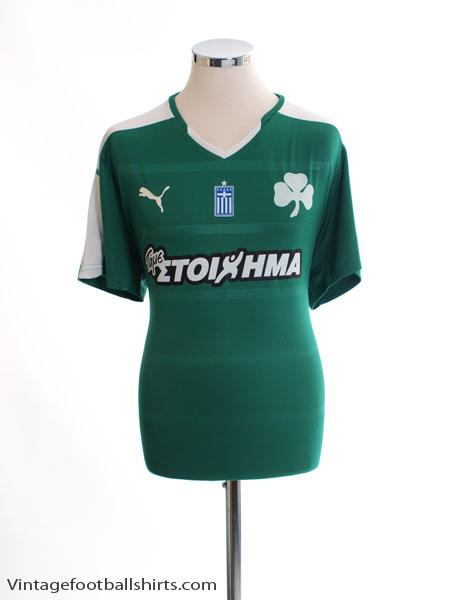 2015-16 Panathinaikos Home Shirt *Mint* XL - 749559