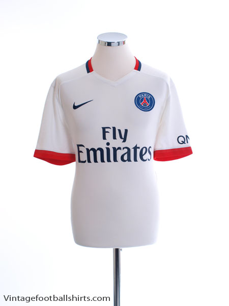 2015-16 Paris Saint-Germain Away Shirt L