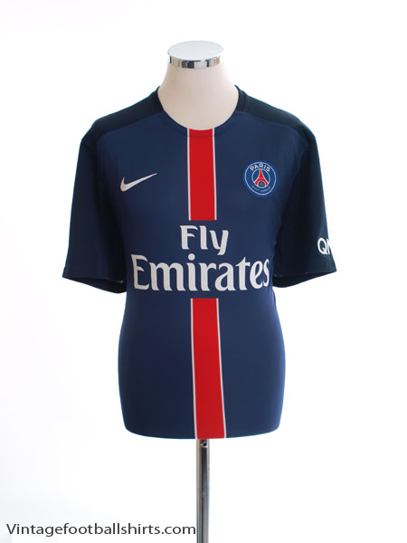 2015-16 Paris Saint-Germain Home Shirt *Mint* XL