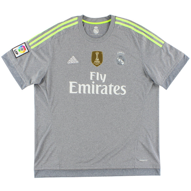5fbdfaa6c 2015-16 Real Madrid Away Shirt  Mint  XL for sale