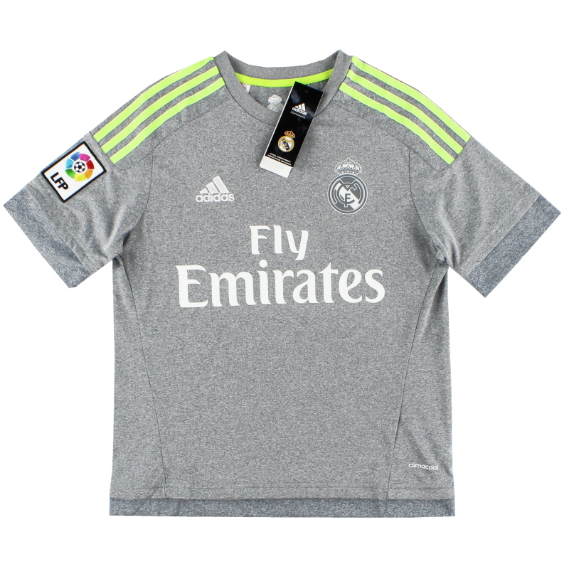 2015-16 Real Madrid adidas Away Shirt *BNIB* L.Boys - S12630