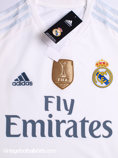 2015-16 Real Madrid Home Shirt  BNIB  for sale 41a540f06aaaa