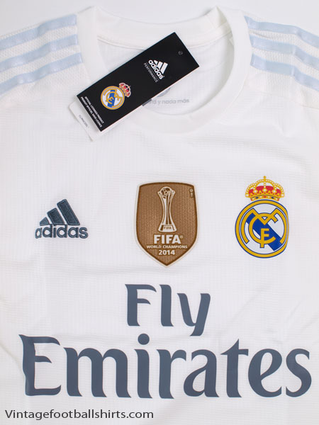 promo code 9dac4 5c0c5 2015-16 Real Madrid Home Shirt L/S *BNIB* for sale