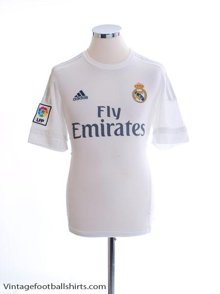 2015-16 Real Madrid Home Shirt M