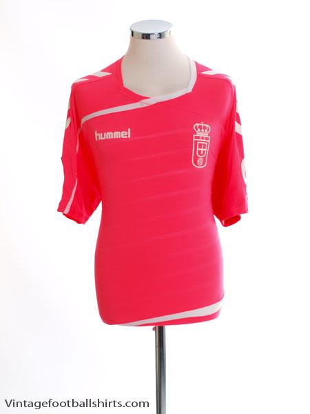 2015-16 Real Oviedo Away Shirt *Mint* L