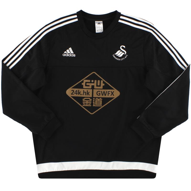 2015-16 Swansea City adidas Sweatshirt XL - S22426