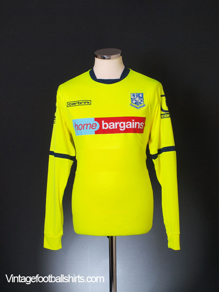 2015-16 Tranmere Rovers Away Shirt *Mint* L/S S