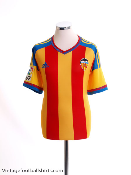 2015-16 Valencia Away Shirt *As New* M - AB2384