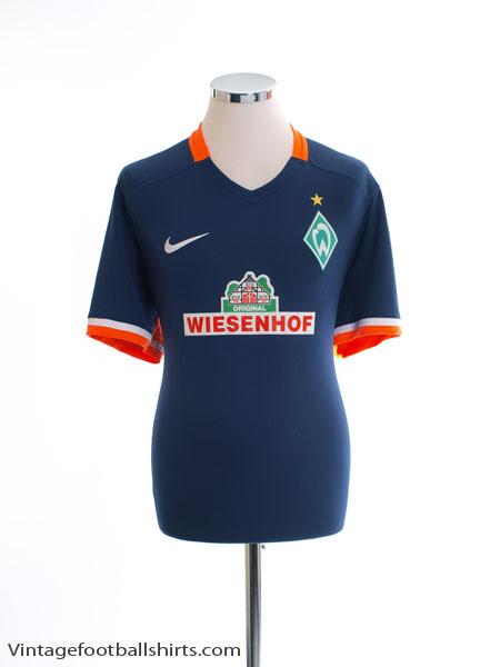 2015-16 Werder Bremen Away Shirt L