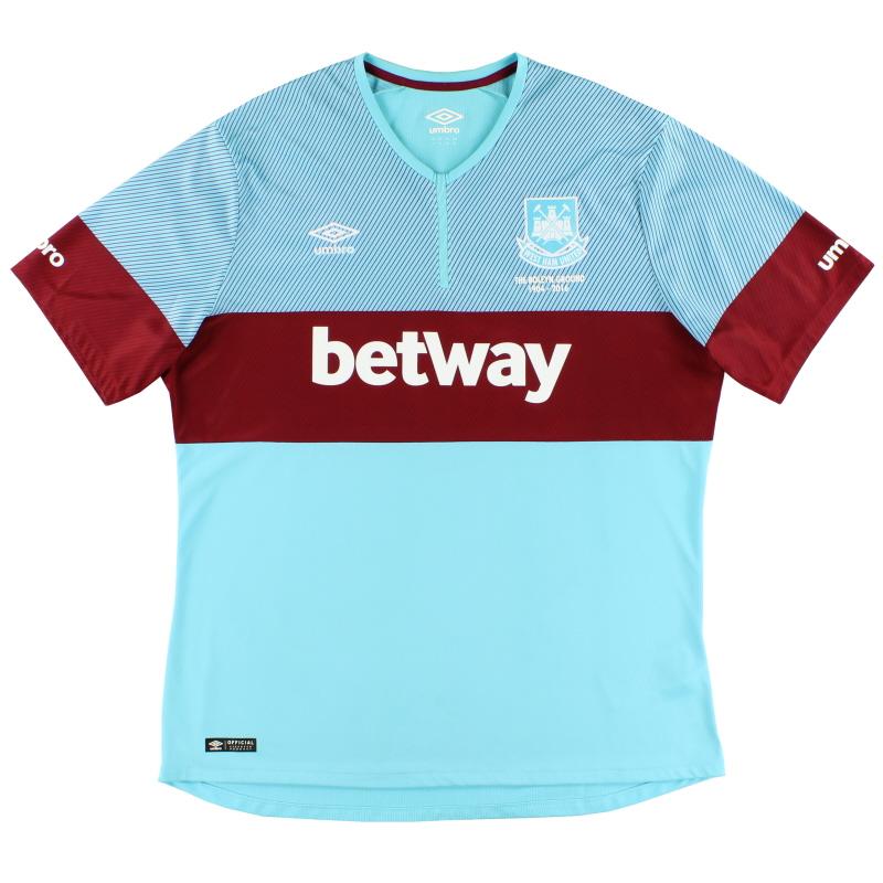 2015-16 West Ham Away Shirt XL