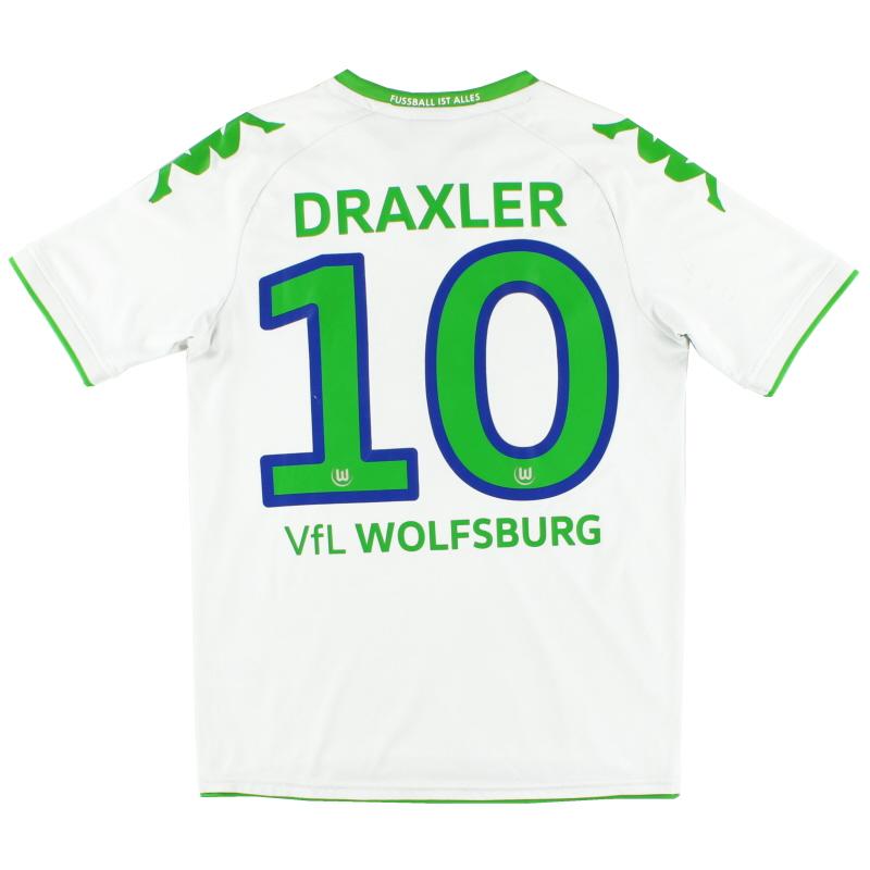 2015-16 Wolfsburg Home Shirt Draxler #10 S