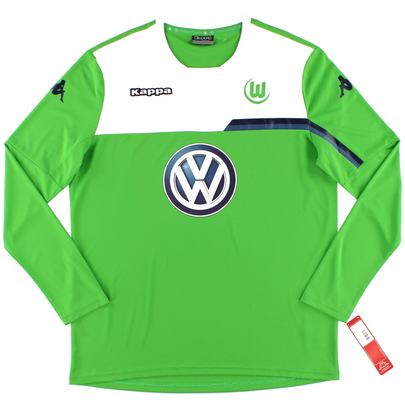 2015-16 Wolfsburg Training Shirt L/S *BNWT* XL