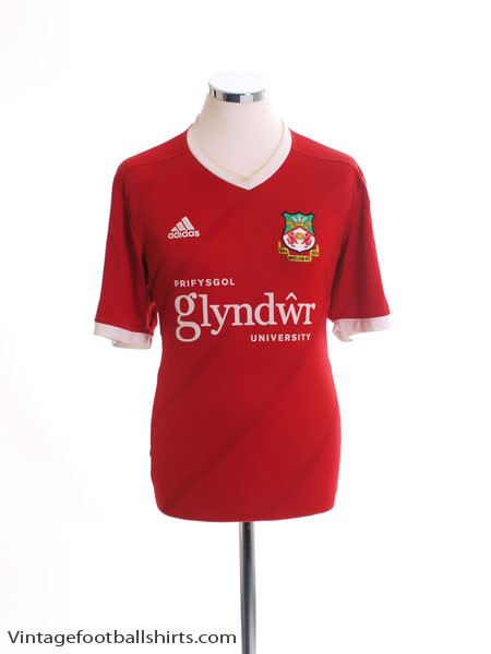 2015-16 Wrexham Home Shirt L.Boys - F50274