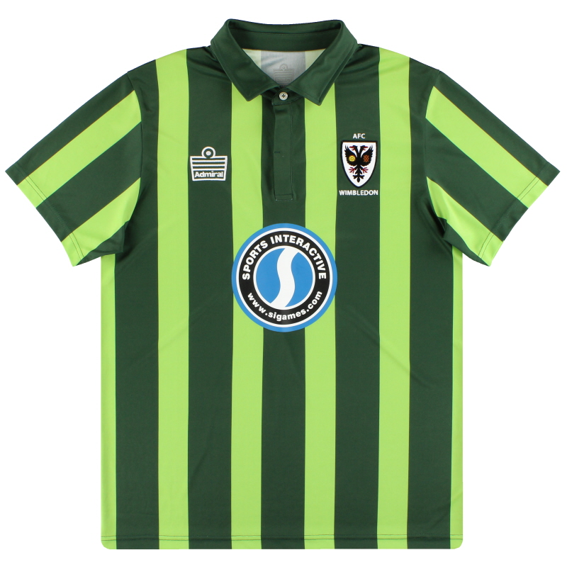 2015-17 AFC Wimbledon Admiral Third Shirt *As New* L