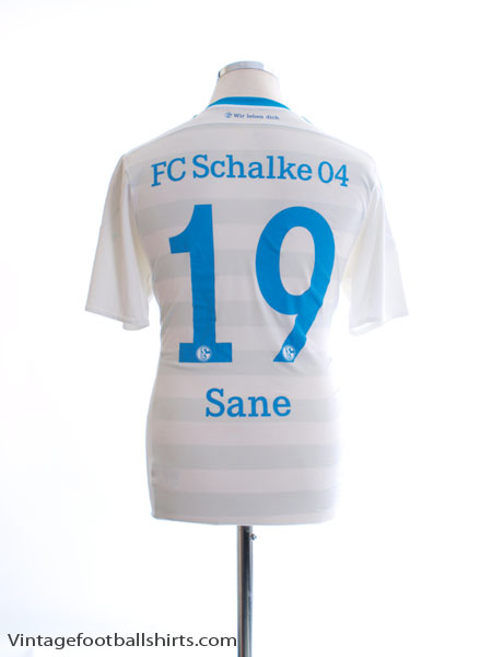 2015-17 Schalke Away Shirt Sane #19 M