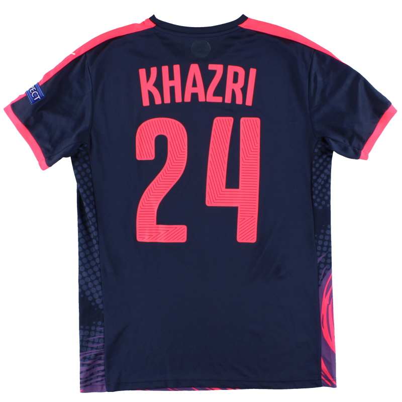 2015 Bordeaux Puma Match Worn Home Shirt Khazri #24 (v Liverpool) L - 747668