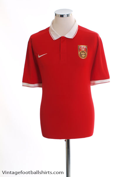2015 China 'Authentic' Home Shirt XL - 588410-657