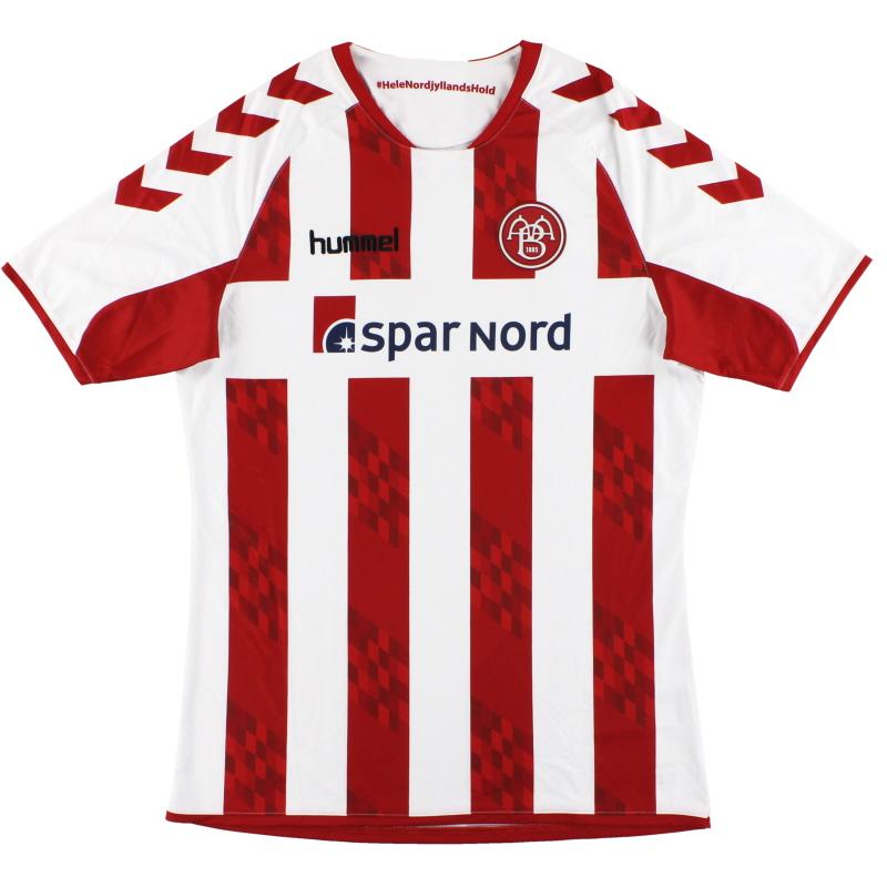 2016-17 Aalborg BK Hummel Home Shirt *As New* M - 03-658